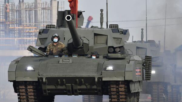 Tanki T-14 Armata  - Sputnik Oʻzbekiston