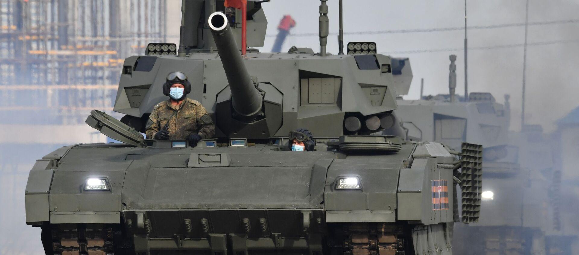 Tanki T-14 Armata  - Sputnik Oʻzbekiston, 1920, 05.02.2021