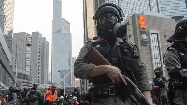 Протесты в Гонконге - Sputnik Узбекистан