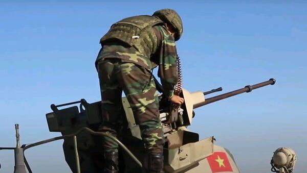 Преследование на танках: конкурс Чистое небо на АрМИ-2020 - видео - Sputnik Узбекистан