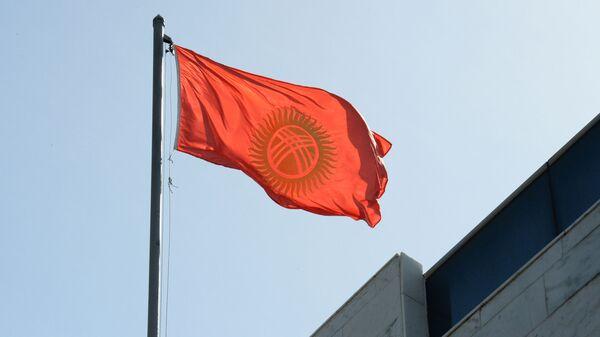 Флаг Кыргызстана - Sputnik Ўзбекистон