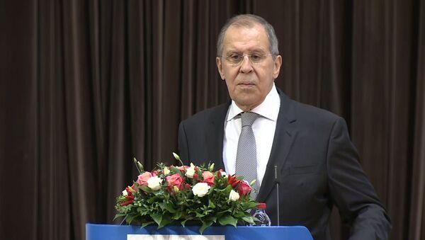 Лавров предложил способ решения ситуации в Беларуси - Sputnik Ўзбекистон