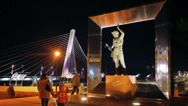 Открытие моста Московский в столице Черногории Подгорице - Sputnik Ўзбекистон
