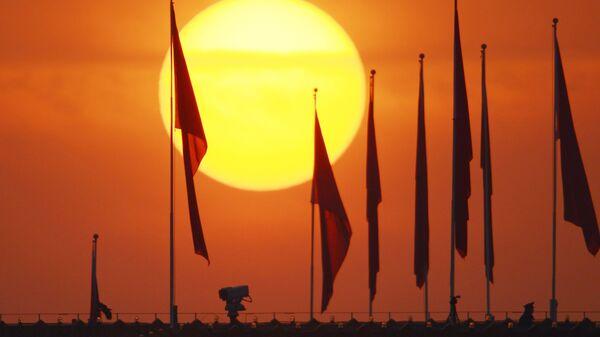Флаг Китая. Архивное фото. - Sputnik Узбекистан