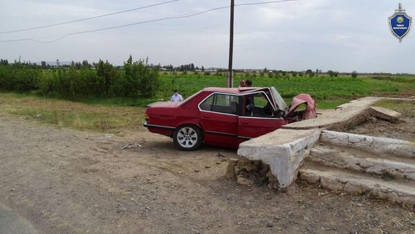 В ДТП в Намангане погибли отец с дочерью - фото - Sputnik Узбекистан