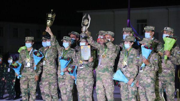 Военно-медицинская эстафета АрМИ-2020: новые рекорды Узбекистана - Sputnik Узбекистан