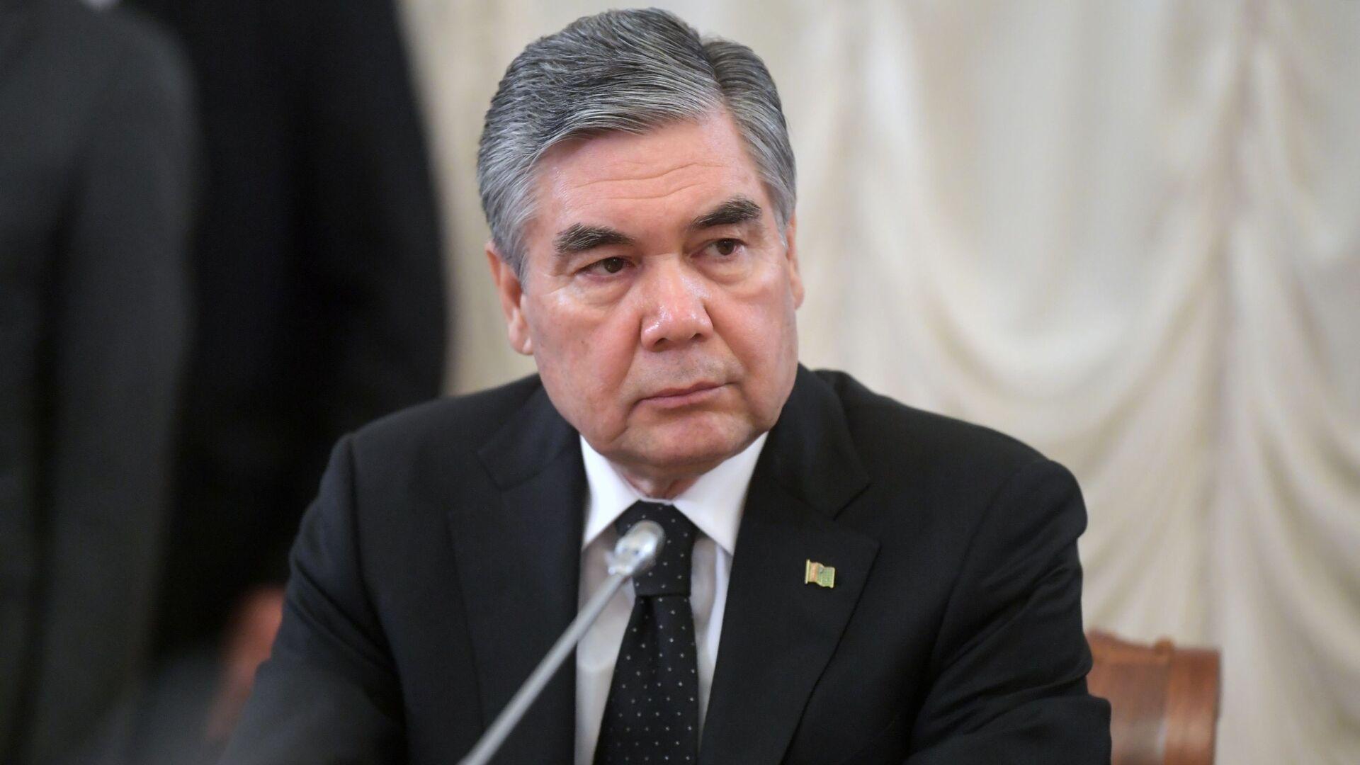 Президент Туркменистана Гурбангулы Бердымухамедов - Sputnik Узбекистан, 1920, 02.10.2021