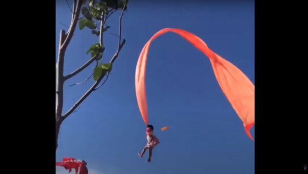 2020.8.30 女童遭風箏捲上天 @新竹國際風箏節 - Sputnik Узбекистан