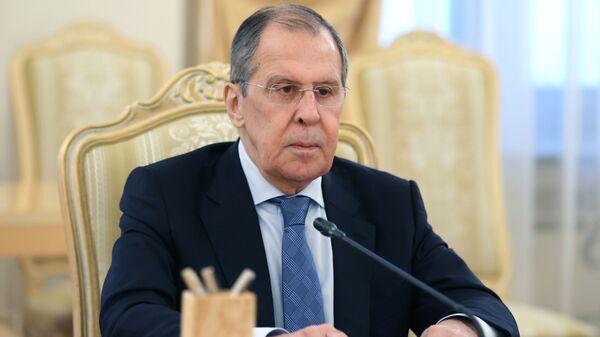 Ministr inostrannыx del RF Sergey Lavrov - Sputnik Oʻzbekiston