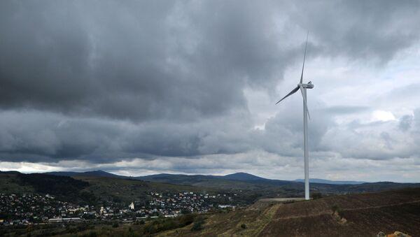 Открытие ветровой электростанции в Карпатах - Sputnik Узбекистан