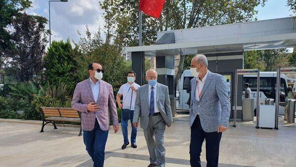 Министр культуры Озодбек Назарбеков на встрече с турецкими учеными  - Sputnik Узбекистан