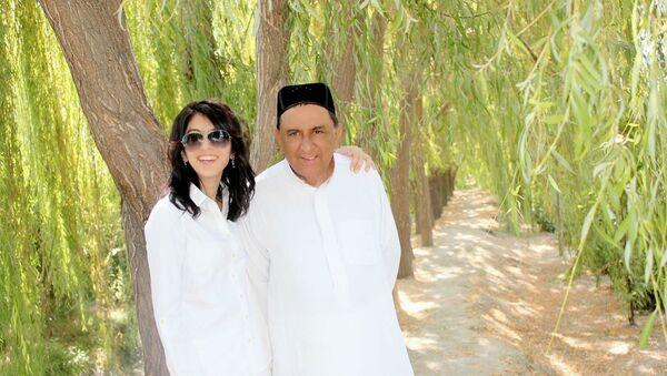 Леди Гули Мурадова вместе с супругом лордом Мухаммад Шейх Илтафом - Sputnik Ўзбекистон