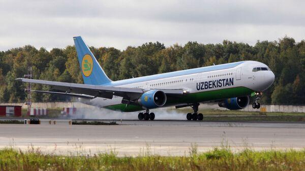 Боинг-767 авиакомпании Uzbekistan Airways - Sputnik Узбекистан