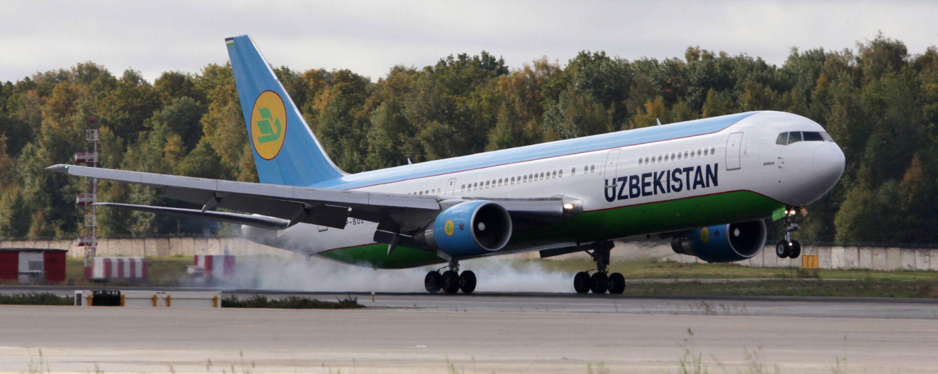 Boing-767 aviakompanii Uzbekistan Airways - Sputnik Oʻzbekiston, 1920, 07.09.2021