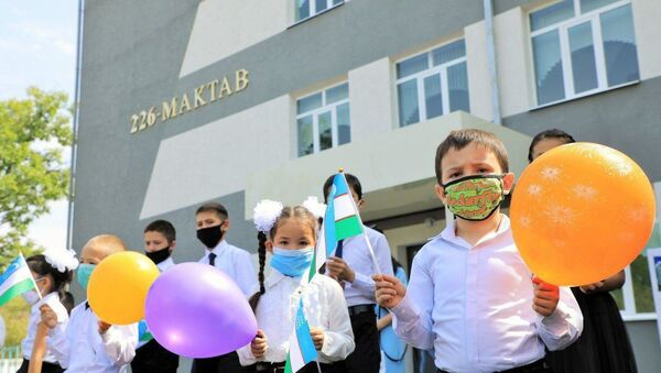 Школьники - Sputnik Узбекистан