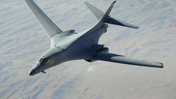 Strategicheskiy bombardirovщik VVS SSHA B-1 Lancer  - Sputnik Oʻzbekiston