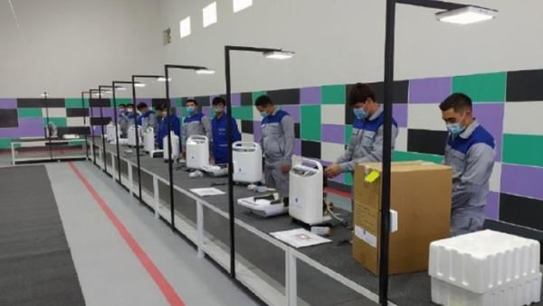 В Фергане запустили производство кислородных концентраторов - Sputnik Узбекистан