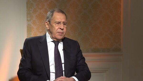 Lavrov: Litva i Polsha diktuyut Belarusi svoyu volyu cherez Tixanovskuyu - Sputnik Oʻzbekiston