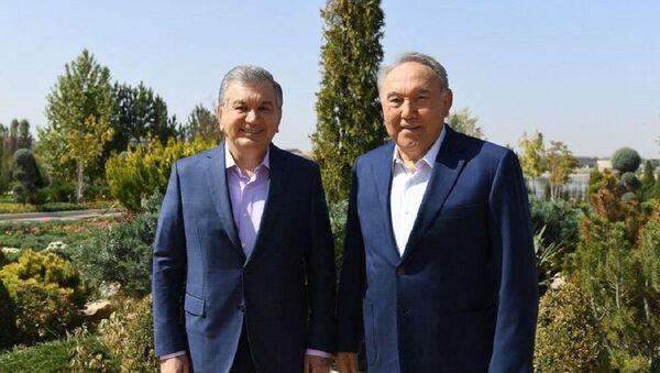 Состоялась рабочая встреча Президента Республики Узбекистан и Первого Президента Республики Казахстан - Sputnik Ўзбекистон