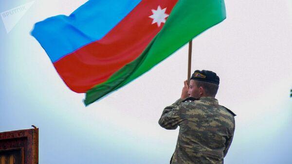 Flag Azerbaydjana - Sputnik Oʻzbekiston