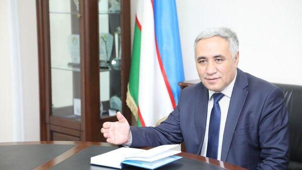 Zamministra vыsshego i srednego spetsialnogo obrazovaniya Uzakbay Begimkulov - Sputnik Oʻzbekiston