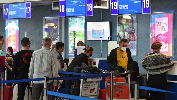 Возобновление авиасообщения между РФ и Белоруссией - Sputnik Узбекистан