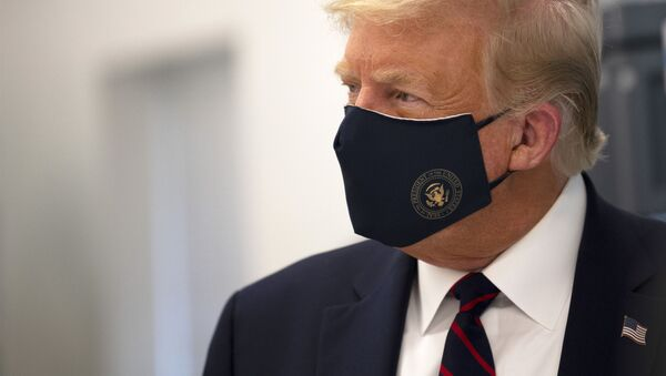 Prezident SSHA Donald Tramp - Sputnik Oʻzbekiston