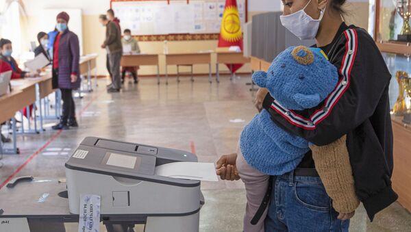 Парламентские выборы в Кыргызстане - Sputnik Ўзбекистон