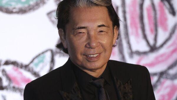 Японский модельер, создатель бренда Kenzo Кендзо Такада - Sputnik Узбекистан