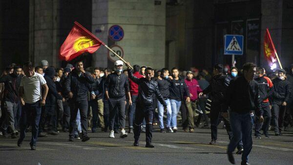 Акция протеста в Бишкеке - Sputnik Ўзбекистон