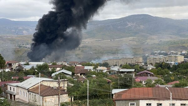 Обострение ситуации вокруг Нагорного Карабаха - Sputnik Ўзбекистон