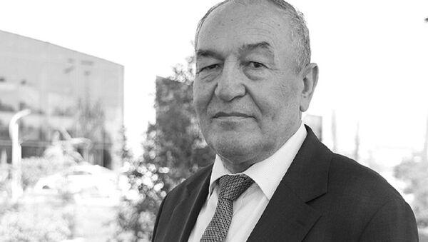 Председатель правления Творческого союза журналистов Узбекистана, журналист и поэт Саъдулла Хакимов - Sputnik Ўзбекистон