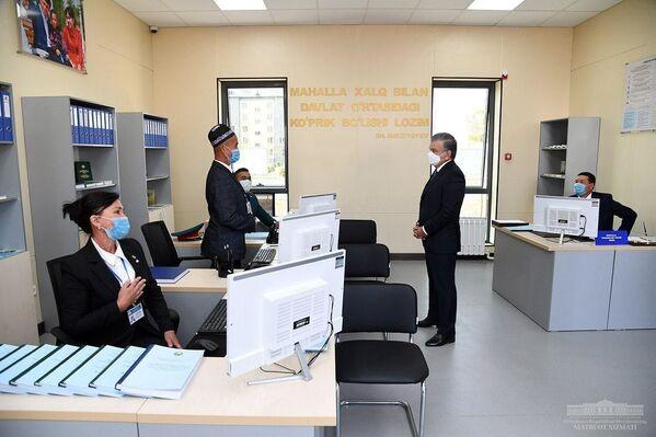 Визит Шавката Мирзиёева в Сырдарьинскую область  - Sputnik Ўзбекистон