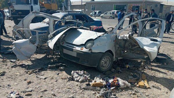 В Бухарской области взорвался газовый баллон Матиза - Sputnik Узбекистан