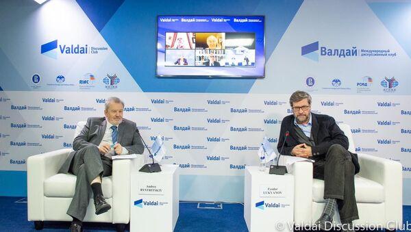 Презентация доклада дискуссионного клуба Валдай - Sputnik Узбекистан