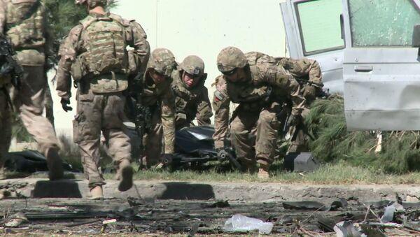 Tramp AQSH askarlarini uyga qaytarmoqchi - Sputnik Oʻzbekiston