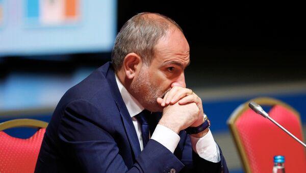 Premyer-ministr Armenii Nikol Pashinyan - Sputnik Oʻzbekiston