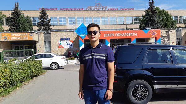 Magistr vtorogo kursa MIFI Kurbaniyaz Kanyazov - Sputnik Oʻzbekiston