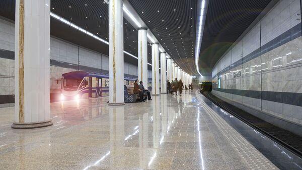 Stantsiya metro v Tashkente - Sputnik Oʻzbekiston