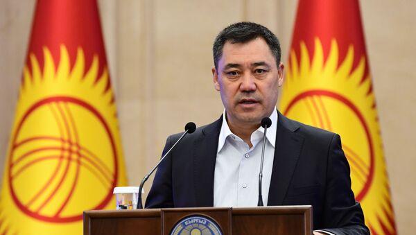 Премьер-министр Киргизии Садыр Жапаров  - Sputnik Ўзбекистон