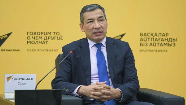 Политолог, заместитель директора Казахстанского института стратегических исследований при президенте республики Санат Кушкумбаев - Sputnik Узбекистан