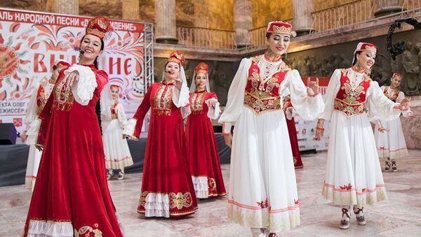 Культурная программа в Центре народной дипломатии ШОС  - Sputnik Узбекистан