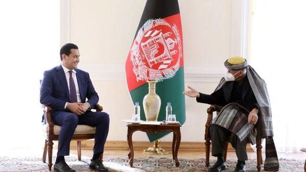 Сардор Умурзаков обсудил с президентом Афганистана реализацию совместных проектов   - Sputnik Ўзбекистон