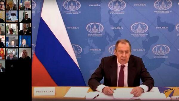 Лавров призвал ООН не допустить обострения ситуации в Персидском заливе - Sputnik Узбекистан