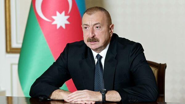 Президент Азербайджана Ильхам Алиев - Sputnik Узбекистан