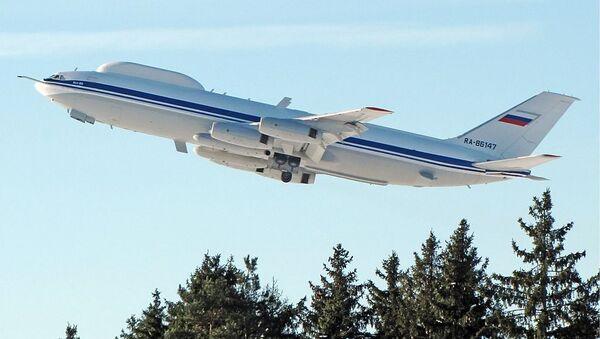 Ил-80 - воздушный командный пункт - Sputnik Ўзбекистон