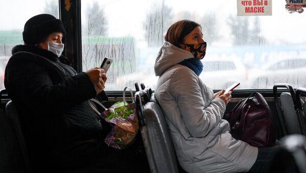 Proverka masochnogo rejima v obщestvennom transporte Novosibirska - Sputnik Oʻzbekiston