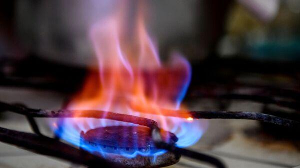 Конфорка газовой плиты в жилом доме - Sputnik Узбекистан