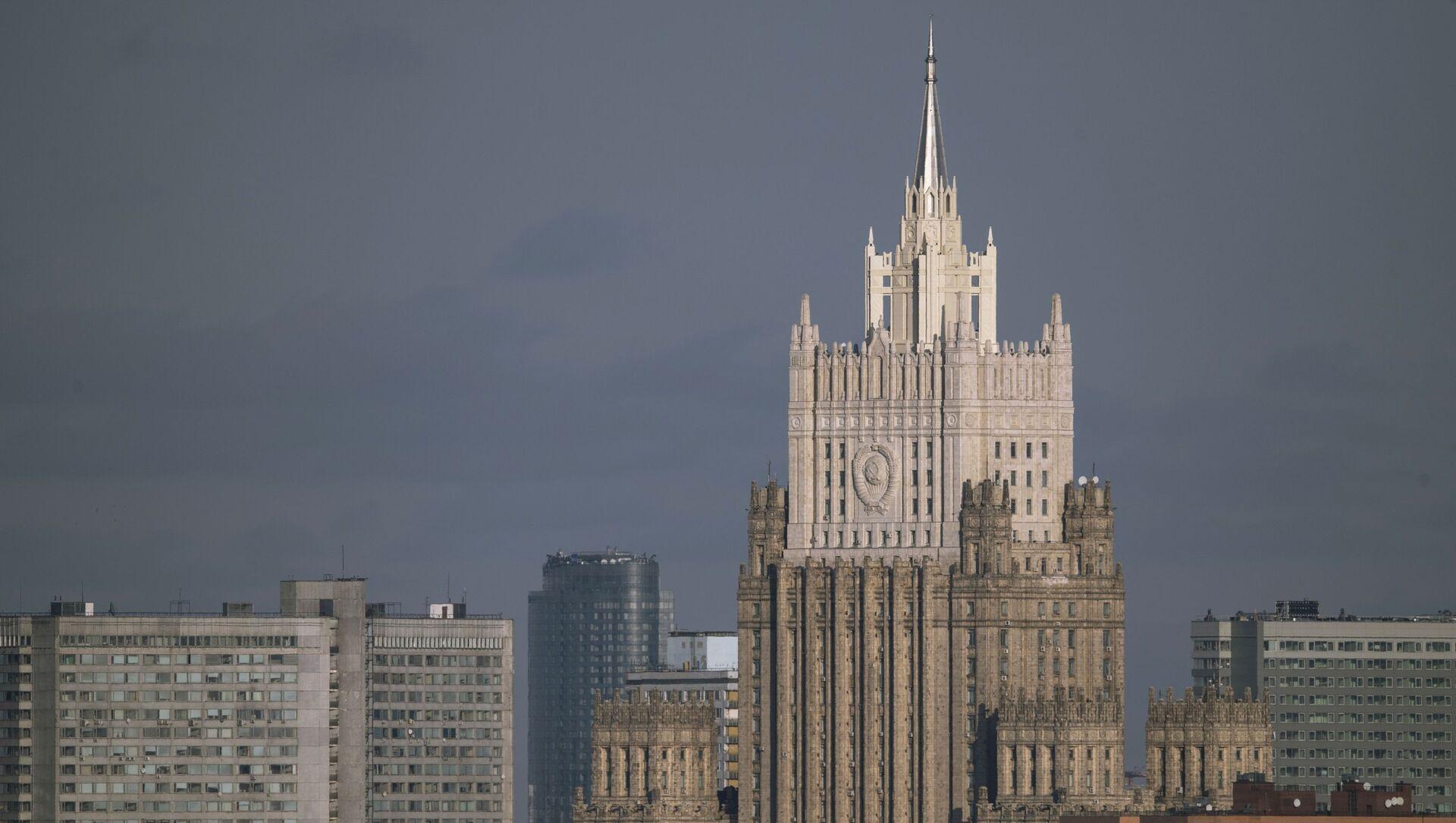 Zdaniye MID Rossii. - Sputnik Oʻzbekiston, 1920, 03.02.2021
