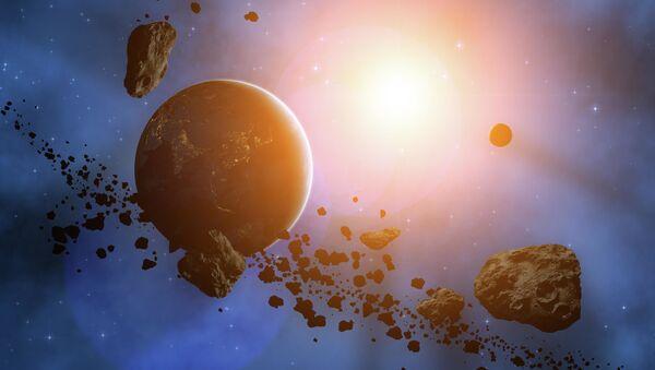 Планета окруженная астероидами - Sputnik Узбекистан